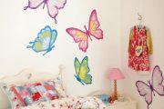 Фото 37 Бабочки на стене: 70 вдохновляющих фотоидей и мастер-класс по декору своими руками