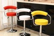 Фото 1 Барный стул с регулируемой высотой: индивидуальный комфорт для каждого в доме