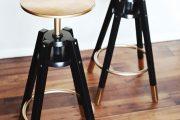 Фото 36 Барный стул с регулируемой высотой: индивидуальный комфорт для каждого в доме