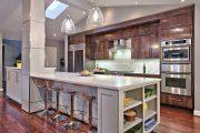 Фото 33 Цветные холодильники: яркие акценты против серой обыденности на кухне