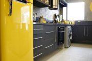 Фото 8 Цветные холодильники: яркие акценты против серой обыденности на кухне
