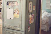 Фото 11 Цветные холодильники: яркие акценты против серой обыденности на кухне