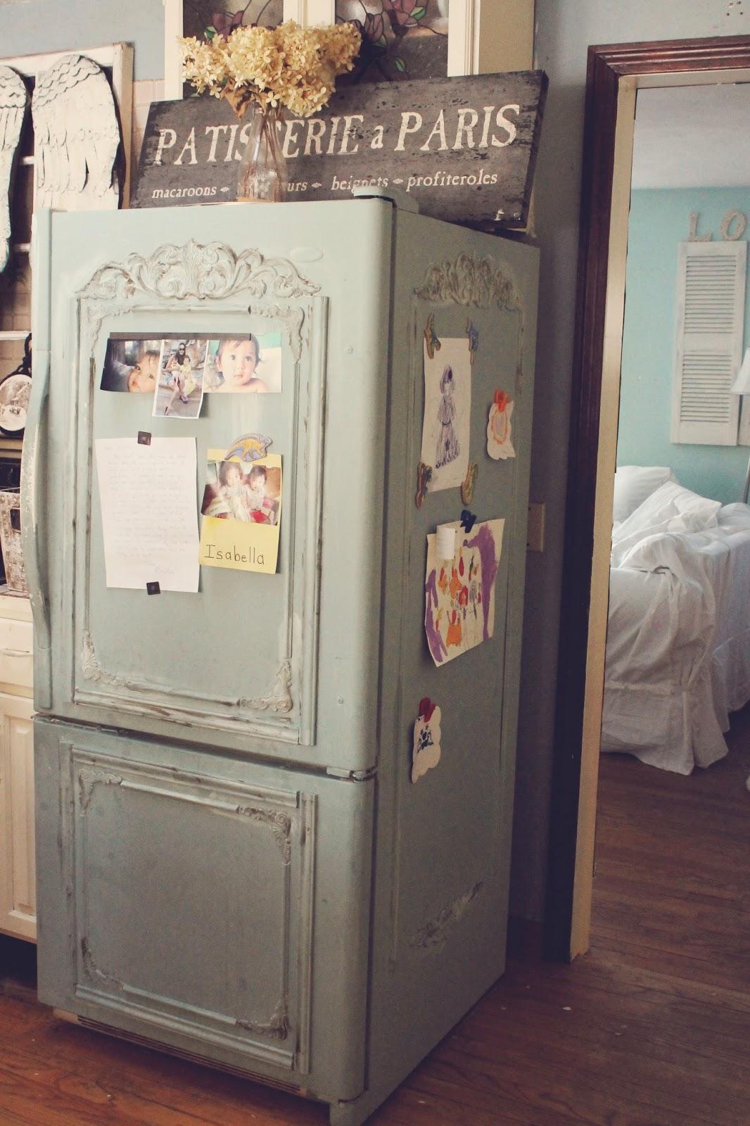 Как обновить старый холодильник своими руками: идеи реставрации старого 57
