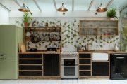 Фото 13 Цветные холодильники: яркие акценты против серой обыденности на кухне