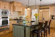 Фото 25 Цветные холодильники: яркие акценты против серой обыденности на кухне