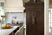 Фото 30 Цветные холодильники: яркие акценты против серой обыденности на кухне