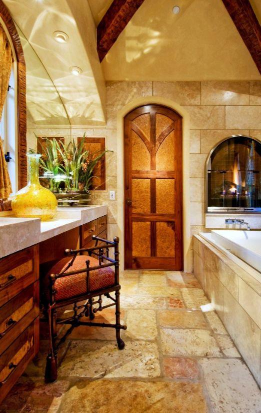 Филенчатые двери: что это такое - тонированное рифленное стекло с теплым эффектом в интерьере ванной