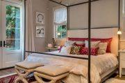 Фото 25 Французская кровать: трендовые модели и 80 утонченных интерьерных идей для спальни
