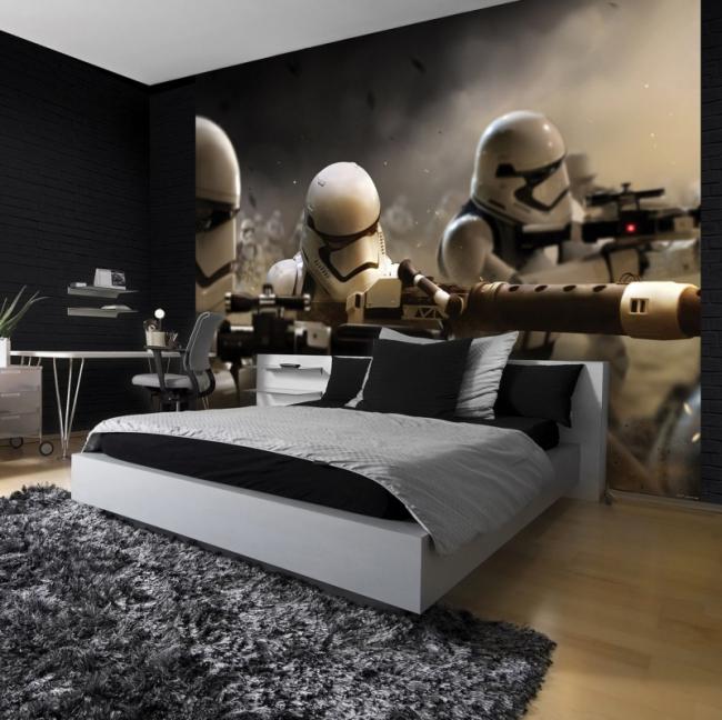 Для комнаты мальчиков можно подобрать интересное настенное панно