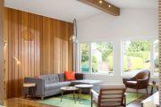 Фото 8 Отделка стен деревом: 80 потрясающих интерьеров, которые изменят ваше отношение к экостилю и шале
