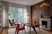 Фото 10 Отделка стен деревом: 80 потрясающих интерьеров, которые изменят ваше отношение к экостилю и шале