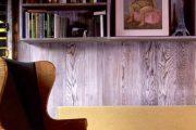 Фото 13 Отделка стен деревом: 80 потрясающих интерьеров, которые изменят ваше отношение к экостилю и шале