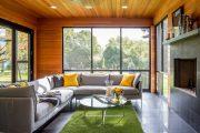 Фото 31 Отделка стен деревом: 80 потрясающих интерьеров, которые изменят ваше отношение к экостилю и шале