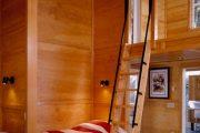 Фото 44 Отделка стен деревом: 80 потрясающих интерьеров, которые изменят ваше отношение к экостилю и шале