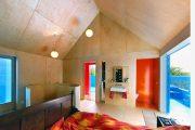 Фото 47 Отделка стен деревом: 80 потрясающих интерьеров, которые изменят ваше отношение к экостилю и шале