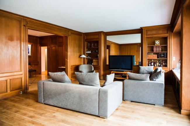 Деревянные буазери – проверенный способ сделать квартиру красивее, теплее, роскошнее