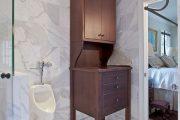 Фото 11 Писсуар для ванной комнаты: особенности выбора, подвода воды и монтажа
