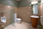 Фото 14 Писсуар для ванной комнаты: особенности выбора, подвода воды и монтажа