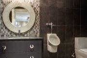 Фото 3 Писсуар для ванной комнаты: особенности выбора, подвода воды и монтажа