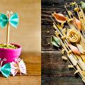 Поделки из макарон: пошаговый мастер-класс по декору своими руками фото