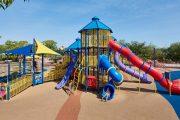 Фото 6 Покрытие для детских площадок из резиновой крошки: безопасность прежде всего