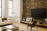 Фото 10 Полка для телевизора на стену: как сделать правильный выбор и 70 современных реализаций