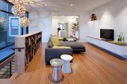 Фото 14 Полка для телевизора на стену: как сделать правильный выбор и 70 современных реализаций