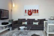 Фото 21 Полка для телевизора на стену: как сделать правильный выбор и 70 современных реализаций