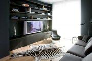 Фото 3 Полка для телевизора на стену: как сделать правильный выбор и 70 современных реализаций