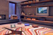 Фото 31 Полка для телевизора на стену: как сделать правильный выбор и 70 современных реализаций