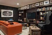 Фото 5 Полка для телевизора на стену: как сделать правильный выбор и 70 современных реализаций