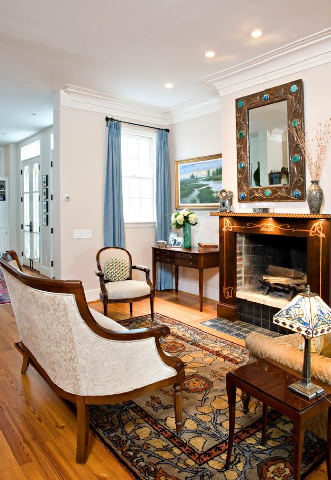 Мебель в стиле ампир подчеркивает выбранный стиль оформления комнаты