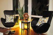 Фото 2 Полукресло с подлокотниками: советы по выбору и обзор стильных дизайнерских моделей