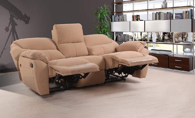 Гостиный диванчик с выдвижной подножкой