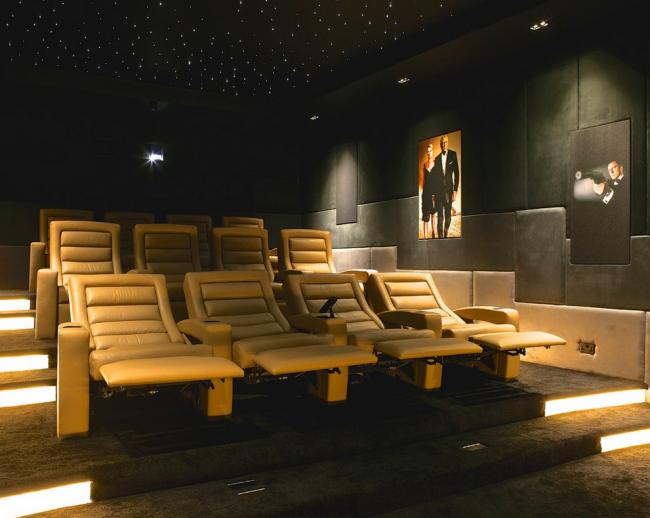 За счет удобства кресла-реклайнеры часты используют в общественных заведениях: кинотеатрах, а так же самолетах и судах