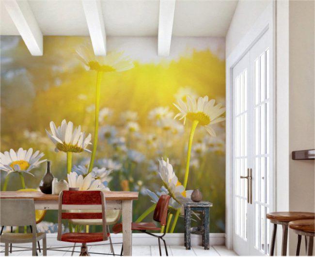 Правильное освещение поможет подчеркнуть качественную отделку стен