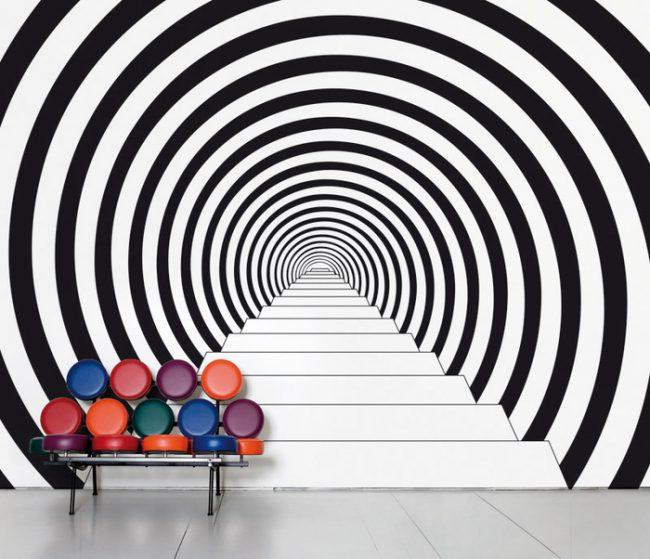 Декор стен 3D фотообоями