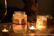 Фото 8 Свечи для романтического вечера: 70 вдохновляющих идей, которые помогут вам удивить любимых