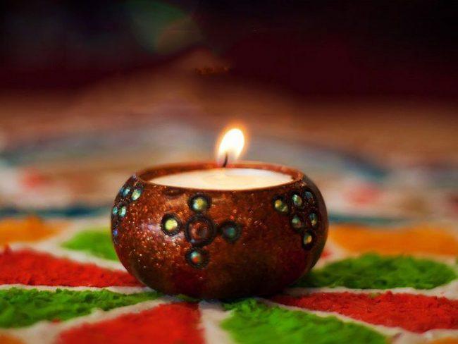 Ёмкость для изготовления свечей в восточном стиле