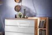 Фото 6 Белые глянцевые комоды: 70+ моделей, воплощающих стиль и интерьерный пуризм