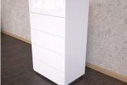 Фото 10 Белые глянцевые комоды: 70+ моделей, воплощающих стиль и интерьерный пуризм