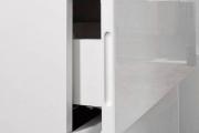 Фото 12 Белые глянцевые комоды: 70+ моделей, воплощающих стиль и интерьерный пуризм