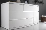 Фото 26 Белые глянцевые комоды: 70+ моделей, воплощающих стиль и интерьерный пуризм