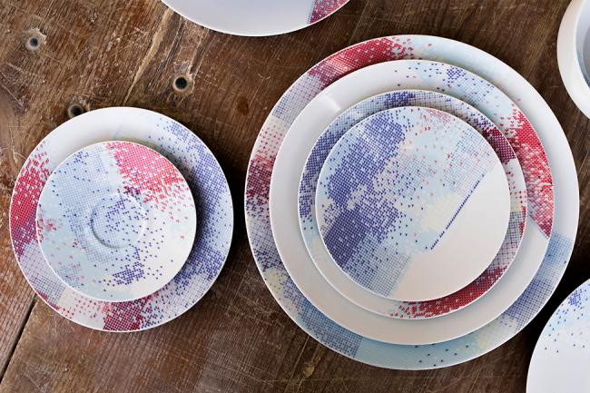 Фарфоровая посуда поможет подчеркнуть благородство вашего интерьера