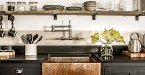 Кухня без верхних шкафов: 75+ функциональных интерьеров для тех, кто устал от кухонной классики фото
