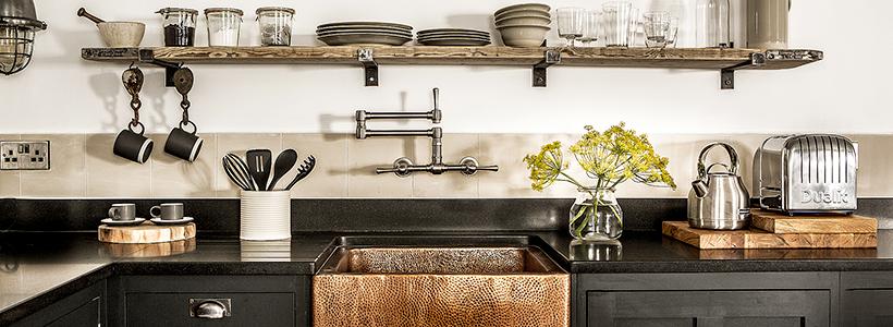 Кухня без верхних шкафов: 75+ функциональных интерьеров для тех, кто устал от кухонной классики