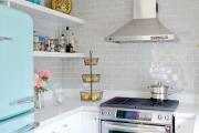 Фото 11 Кухня без верхних шкафов: 75+ функциональных интерьеров для тех, кто устал от кухонной классики