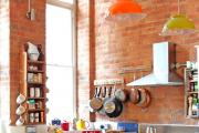 Фото 22 Кухня без верхних шкафов: 75+ функциональных интерьеров для тех, кто устал от кухонной классики