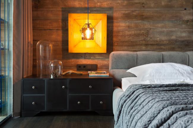 Ламинат на стене в спальне 80 Вариантов Отделки Стен 2017