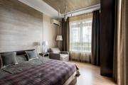 Фото 8 Ламинат на стене в спальне: 80 уютных вариантов отделки для минималистичных интерьеров